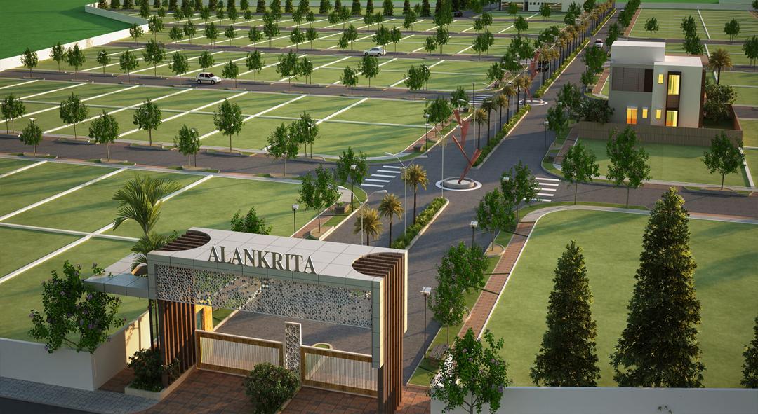 Alankrita - Aerial View